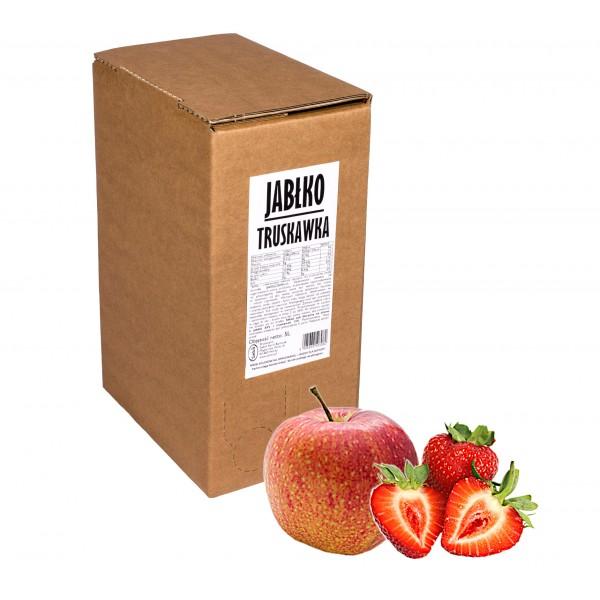 Sadvit Sok jabłko truskawka 100% 5L