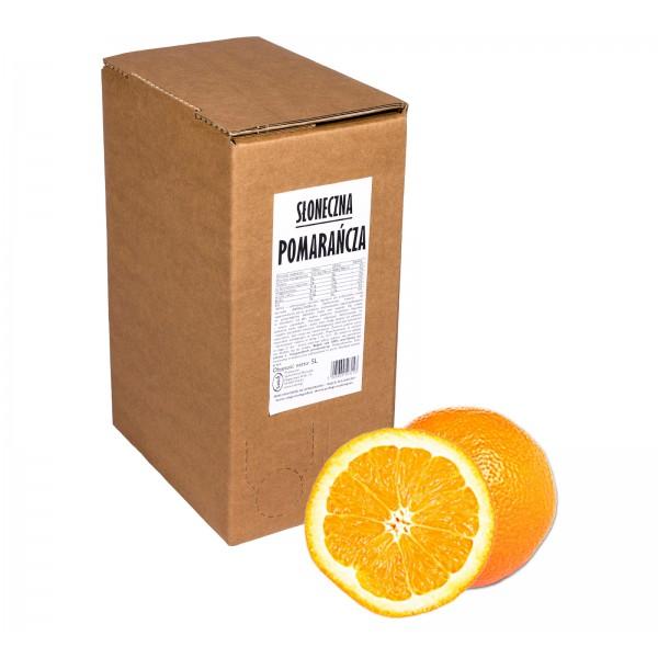Sadvit Sok pomarańczowy Słoneczna POMARAŃCZA 100% 5L