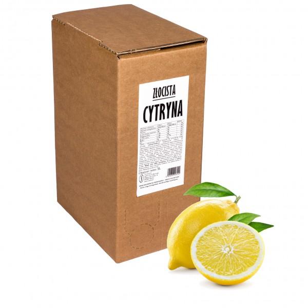 Sadvit Sok z cytryny Złocista Cytryna 100% 5L