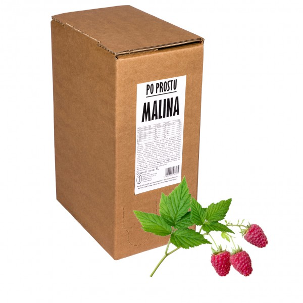 Sadvit Sok z malin Po Prostu MALINA 100% 5L
