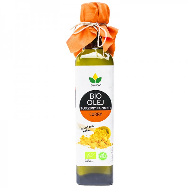 SemCo BIO Olej Słonecznikowy o Smaku Curry 250ml