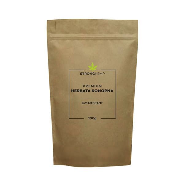 Strong Hemp Herbata premium herbata konopna – kwiatostany 100g