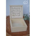 Sylart Drewniane pudełko dla Mamy