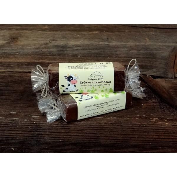 Tradycyjna Krówka miodowa czekoladowa