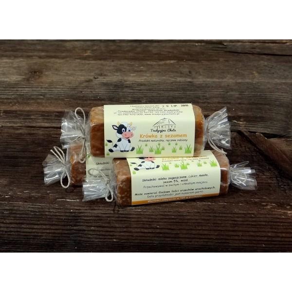 Tradycyjna Chata Krówka miodowa sezamowa