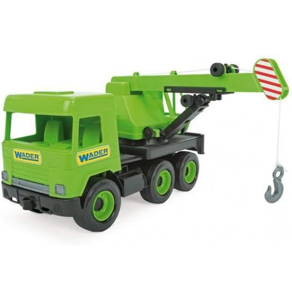 WADER MIDDLE TRUCK DŹWIG GREEN W KARTONIE 38cm