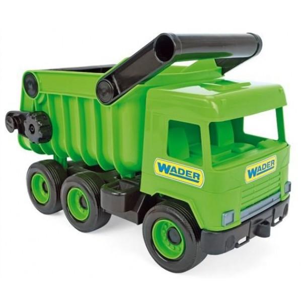 WADER MIDDLE TRUCK WYWROTKA GREEN W KARTONIE 38cm