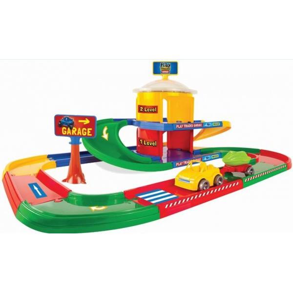 WADER PLAY TRACKS GARAGE 2-LEVELS