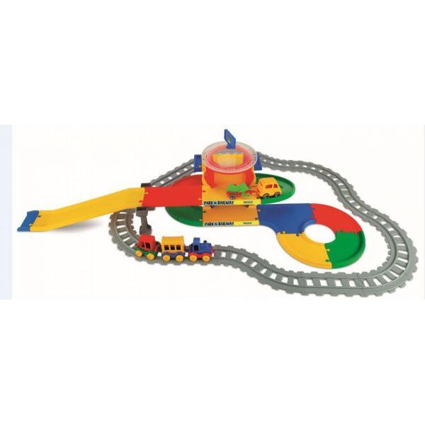 WADER PLAY TRACKS RAILWAY STACJA KOLEJOWA