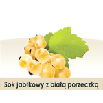 Wiatrowy Sad Apple juice with white currant 3l