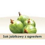 Wiatrowy Sad Sok jabłkowy z agrestem 5l