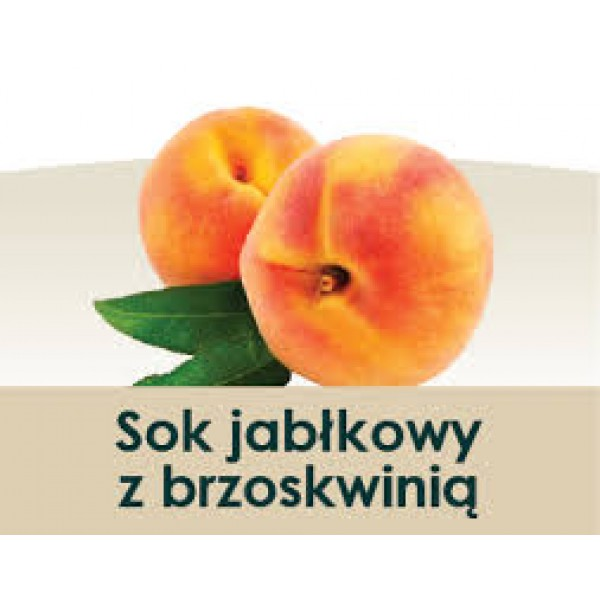 Wiatrowy Sad Apple juice with peach 300ml