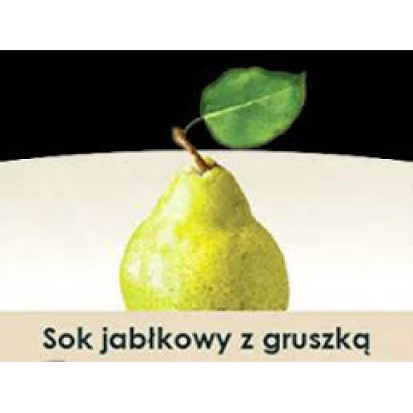 Wiatrowy Sad Sok jabłkowy z gruszką 5l