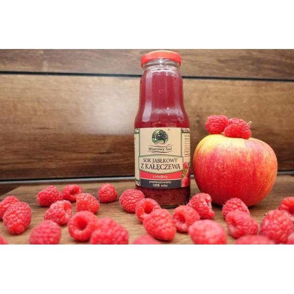 Wiatrowy Sad Apple juice with raspberry 3l