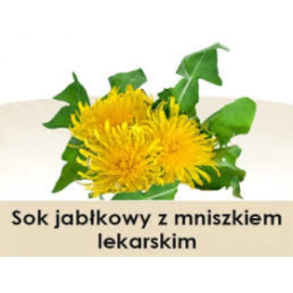 Wiatrowy Sad Sok jabłkowy z mniszkiem lekarskim 300ml