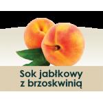 Wiatrowy Sad Sok jabłkowy z brzoskwinią 3l