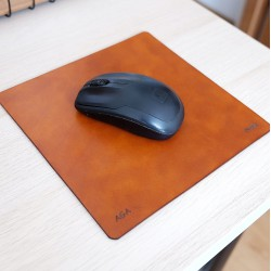 Wildleather Leather mouse pad with the option of personalization