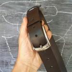 Wildleather Męski skórzany pas - szerokość 4 cm - różne kolory