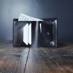 "Wildleather Classic wallet with a coin pocket made of genuine leather - ""Long2"" model"