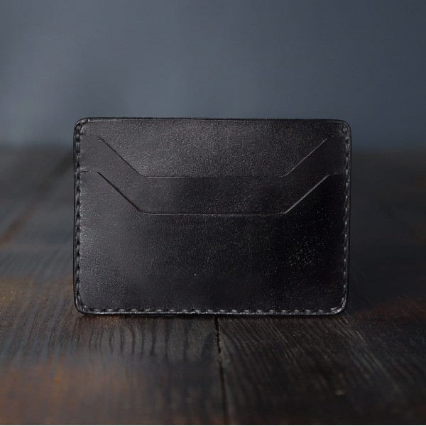 """Wildleather Minimalistyczny portfel z naturalnej skóry - model """"Mini"""""""