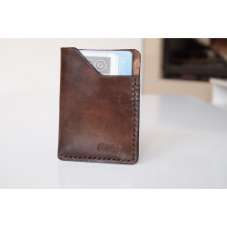 "Wildleather A wallet for cards made of Polish natural leather - ""Small"" model"