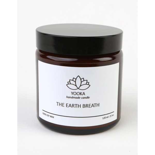 Yooka Scented candle THE EARTH BREATH 60ml