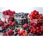 Zdrowo Zakręcony Konfitura z czarnej porzeczki – 100% wegańska bez dodatku cukru 235ml