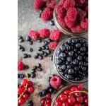 Zdrowo Zakręcony Konfitura z owoców leśnych - 100% wegańska bez dodatku cukru 235ml