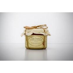 Zdrowo Zakręcony Masło orzechowe z konfiturą z truskawek 235ml