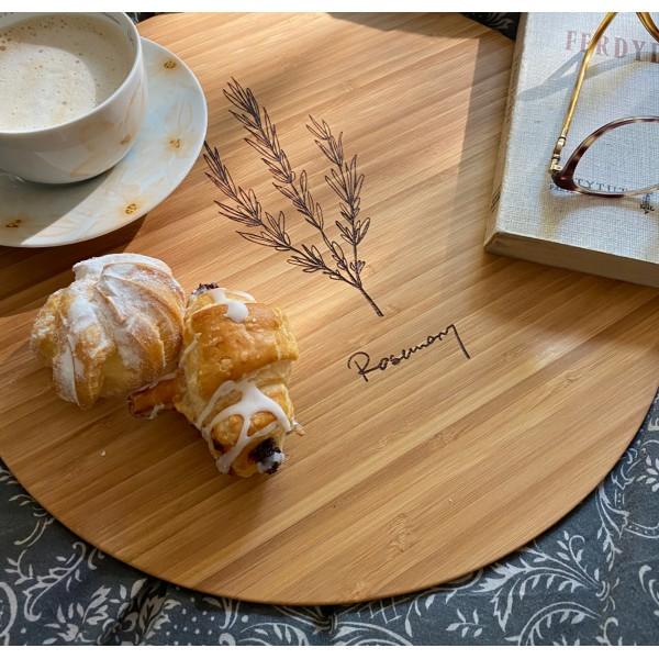 Zoria Bamboo Podkładki na stół, drewno bambusowe, komplet 6 szt.