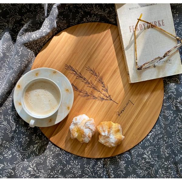 Zoria Bamboo Podkładki na stół, drewno bambusowe, komplet 4 szt.