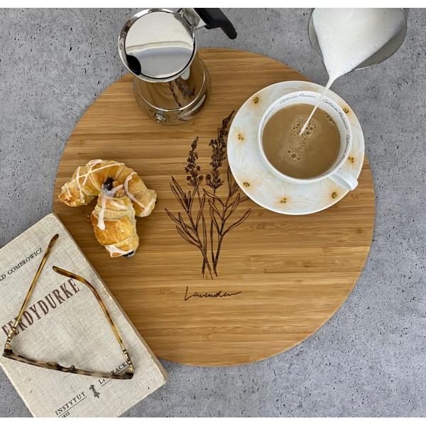 Zoria Bamboo Podkładki na stół, drewno bambusowe, komplet 2 szt.