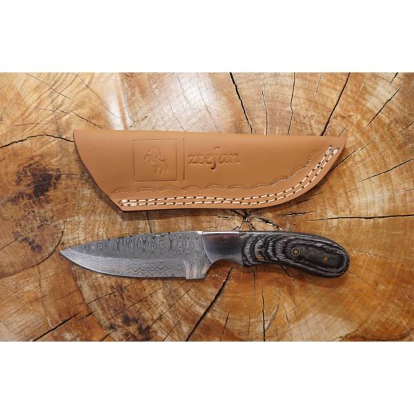 Ztefan Damascus steel knife NM-01