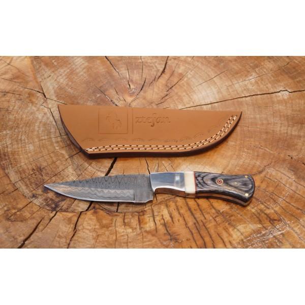 Ztefan Damascus steel knife NM-013