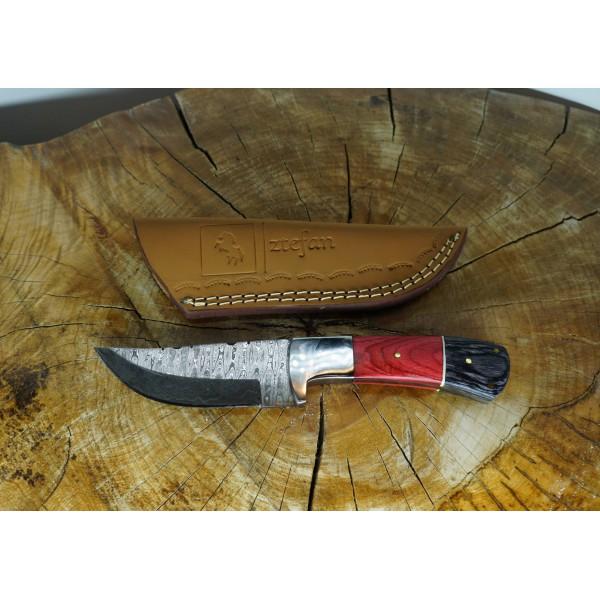 Ztefan Damascus steel knife NM-018