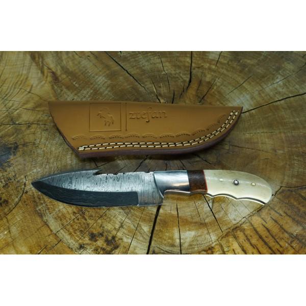 Ztefan Damascus steel knife NM-025