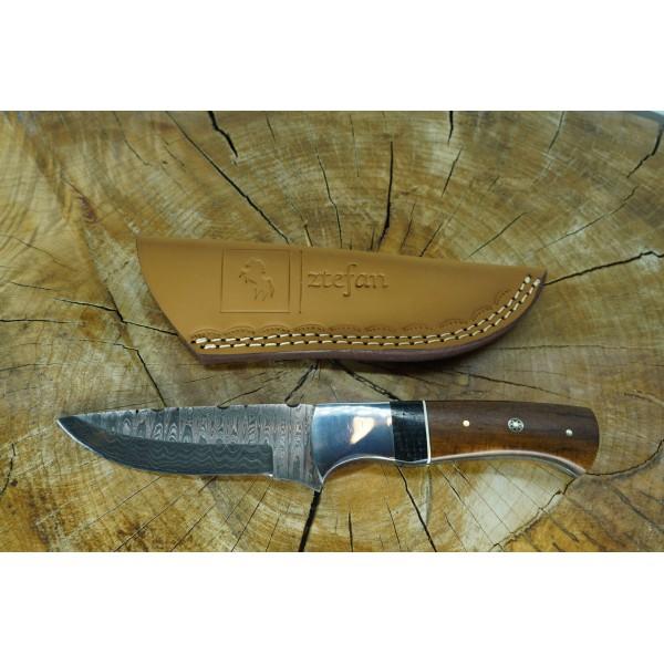 Ztefan Damascus steel knife NM-026