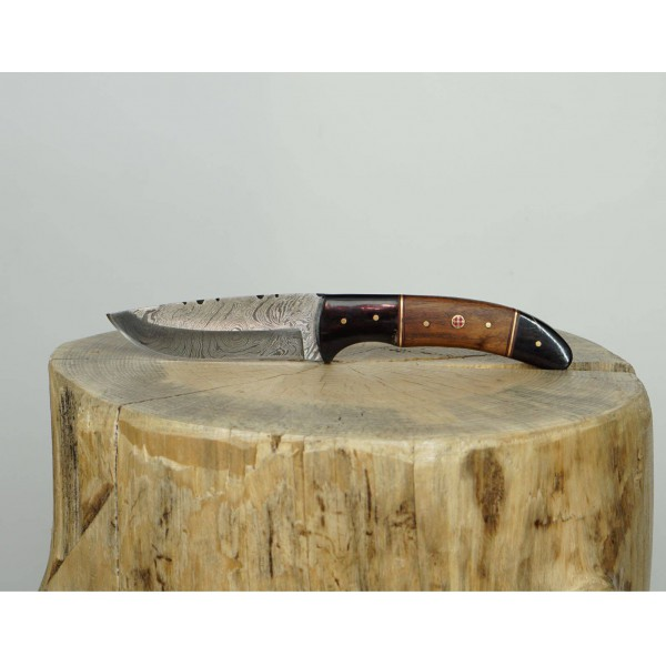 Ztefan Damascus steel knife NM-03