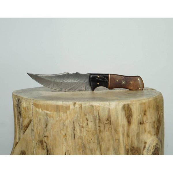 Ztefan Damascus steel knife NM-04