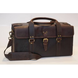 Ztefan Original leather bag - trunk - weekend bag made of buffalo leather TP-01