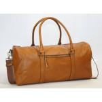 Ztefan Original leather travel weekend bag made of grain leather TP-02