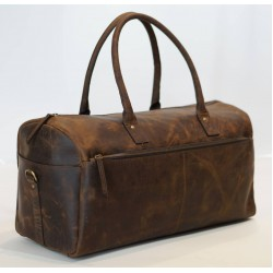 Ztefan Original leather weekend sports bag made of buffalo leather TP-03