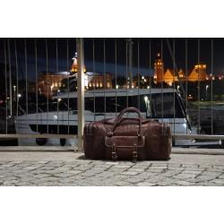 Ztefan Genuine leather weekend bag ZK-04B