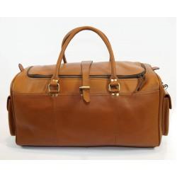 Ztefan Genuine leather weekend bag ZT-04
