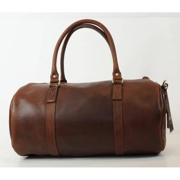 Ztefan Weekend bag made of genuine buffalo leather ZT-05