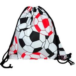 Worek plecak na buty kapcie dla przedszkolaka do żłobka kolorowy mały - piłki