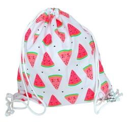 BabyBall Worek na buty kapcie do przedszkola żłobka plecak bawełna mały - arbuzy