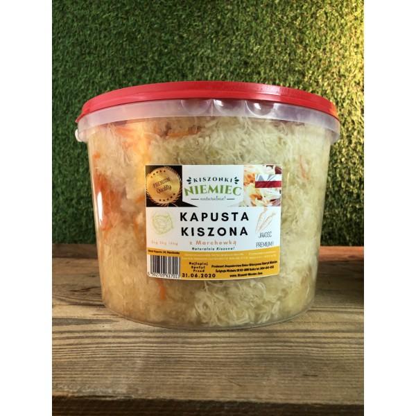 Kiszonki Niemiec Kapusta Kiszona z marchewką 5kg