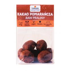 Raw Praliny Kakao Pomarańcza 105g Lavica Gourmet