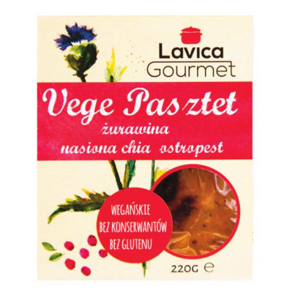 Pasztet Vege z Żurawiną 220g Lavica Gourmet